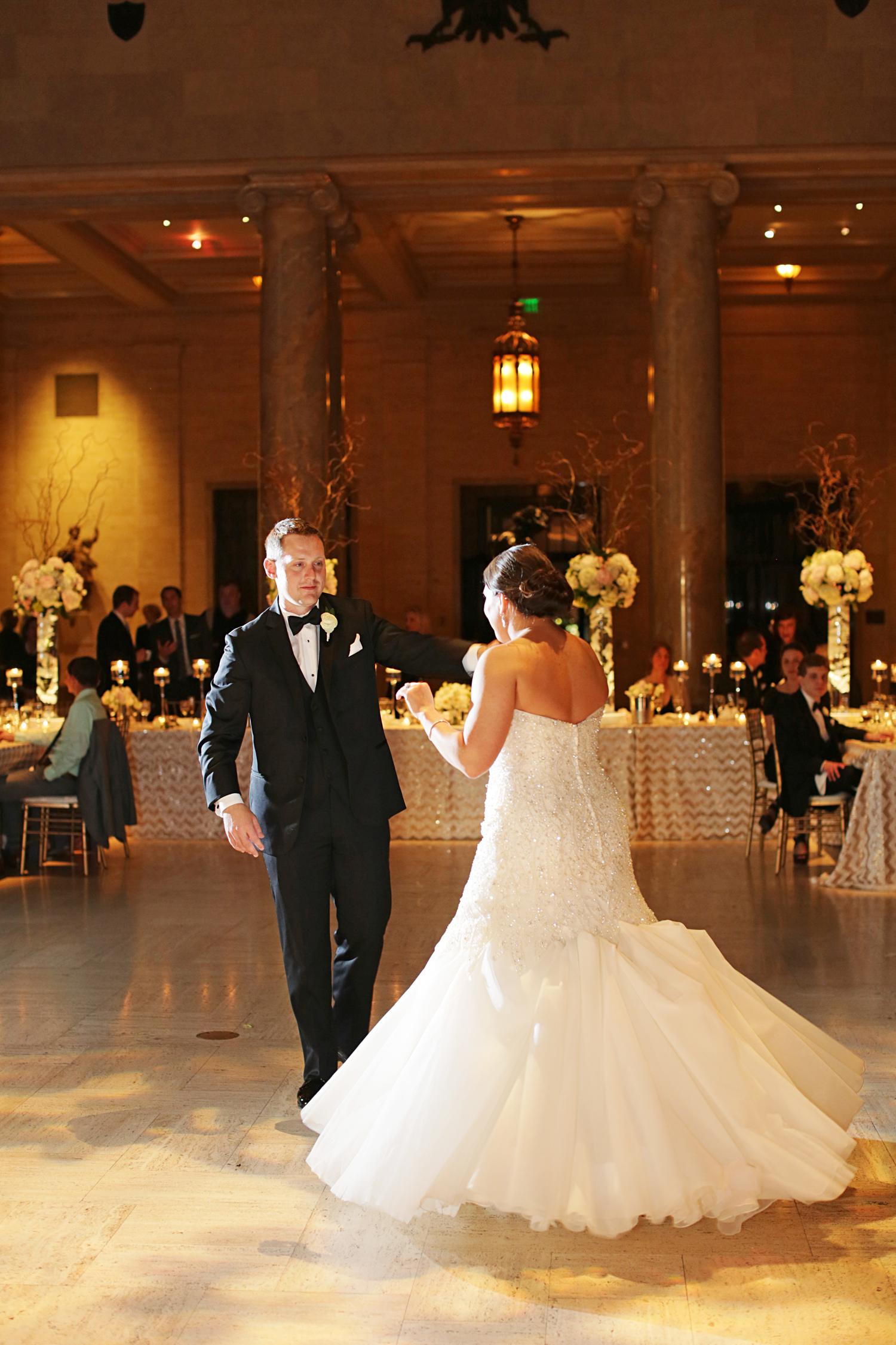 Real Weddings Allie Ron