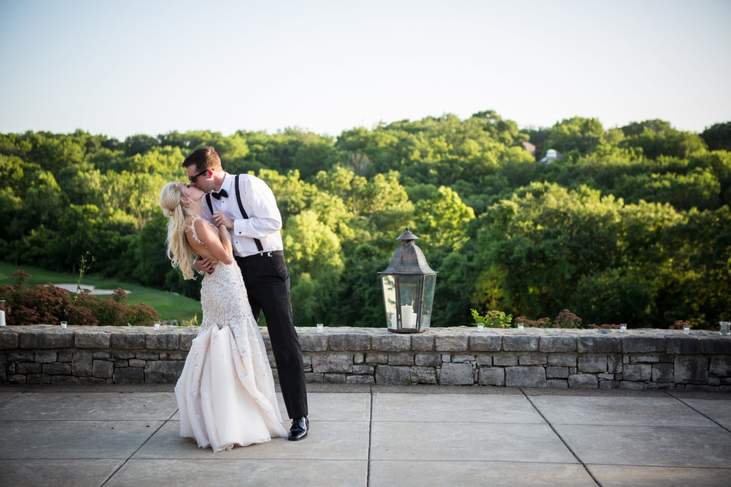 Kansas City golf course wedding