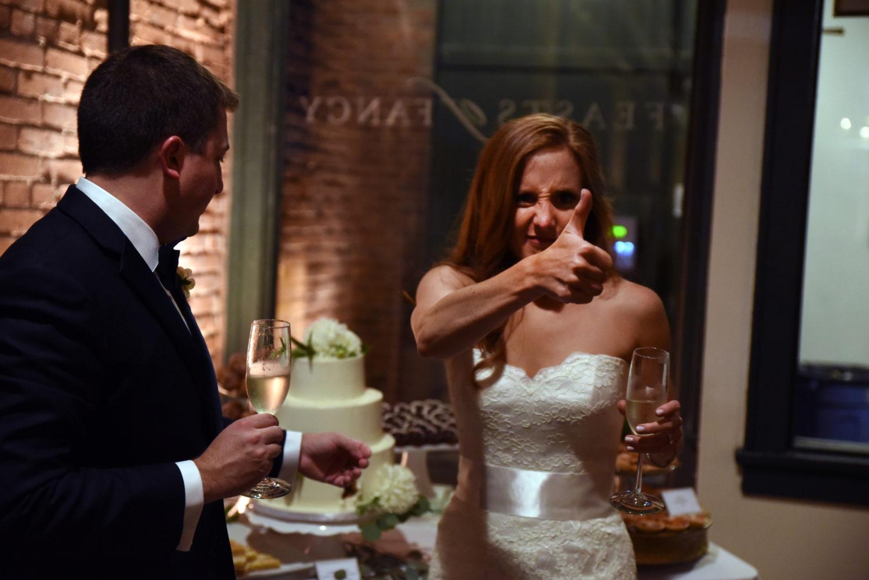 mixed wedding dessert table