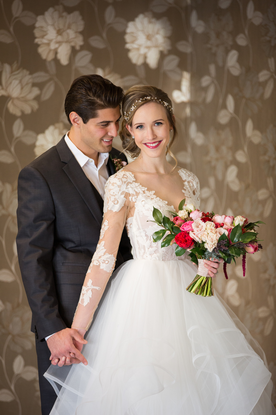 Romantic Valentine's Day Styled Wedding Shoot - Kansas City