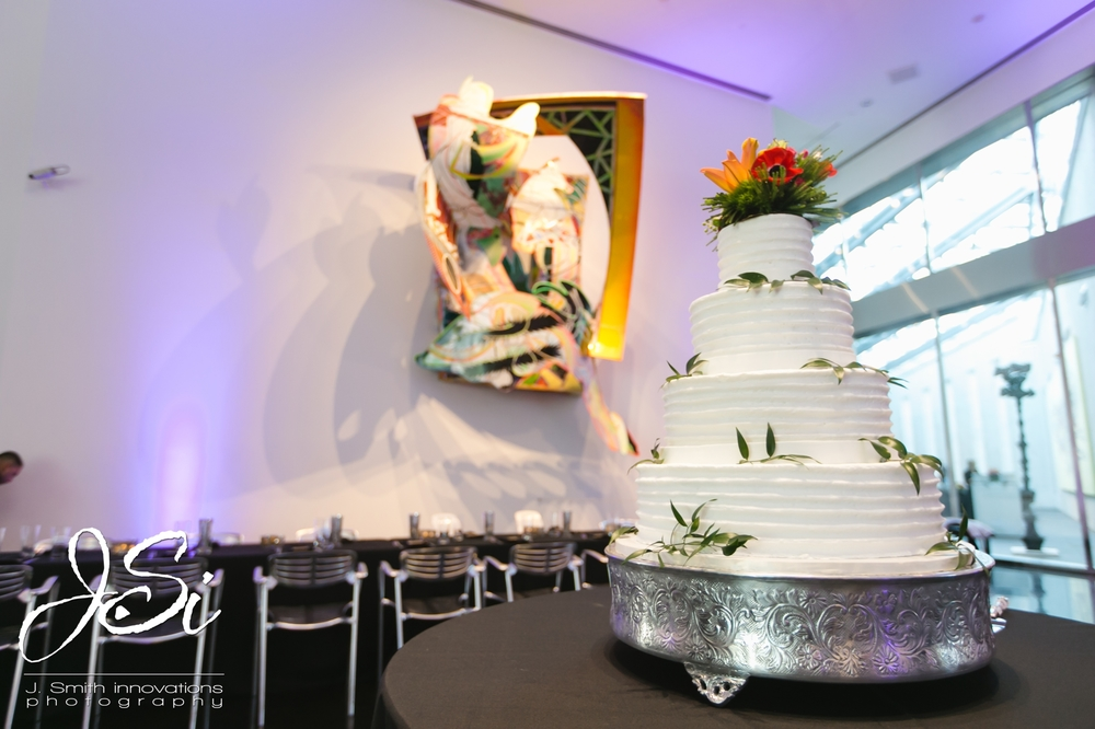 modern white wedding cake sweet bliss cakery