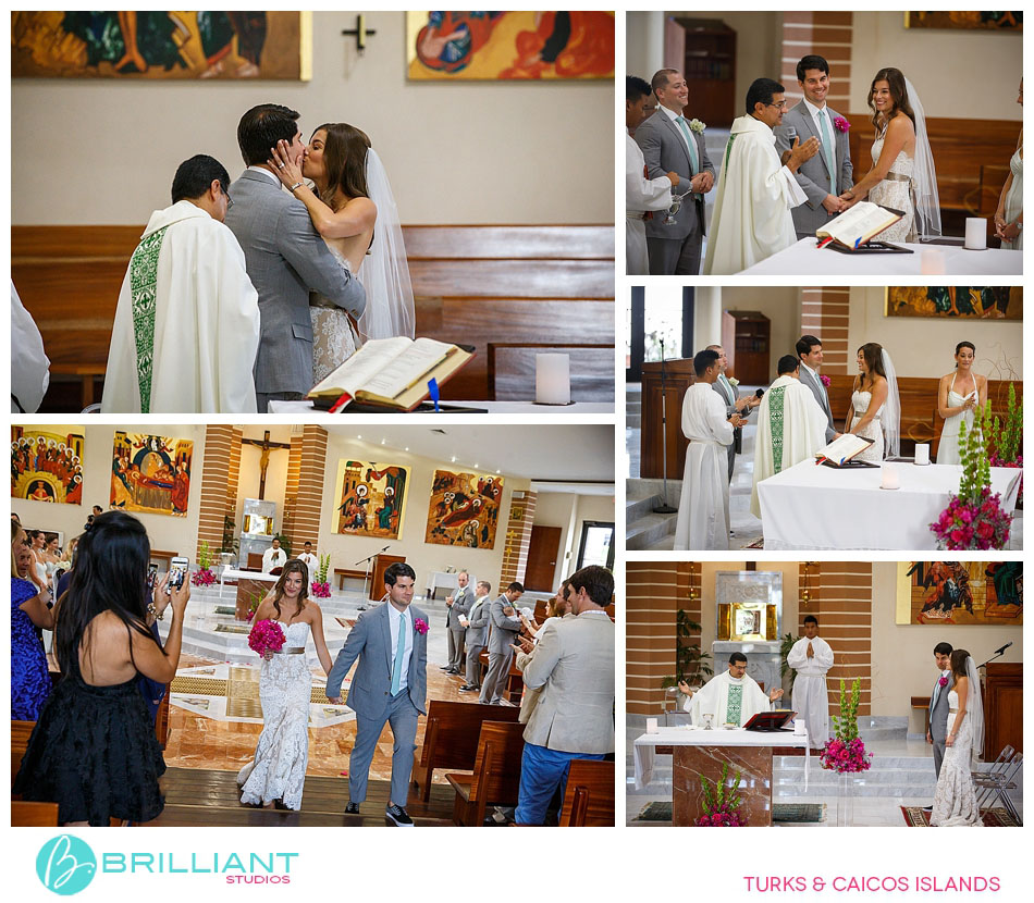turks and caicos church wedding