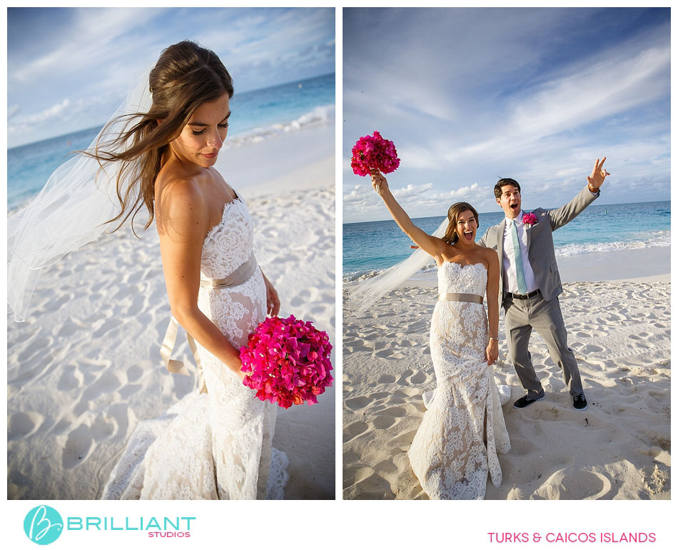 beach wedding turks and caicos