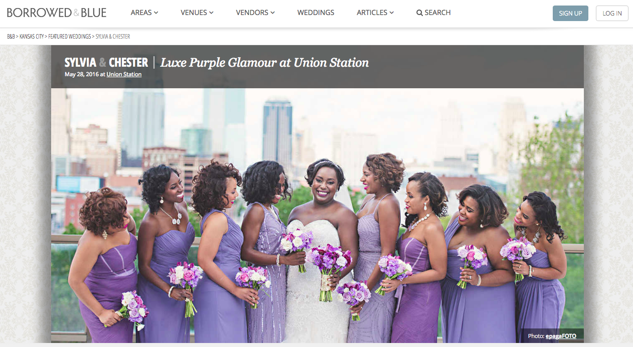 luxe union station wedding