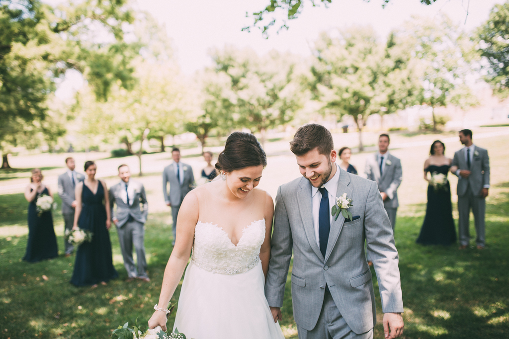 Real Weddings: Sarah + Matt – Charming Lawrence Wedding