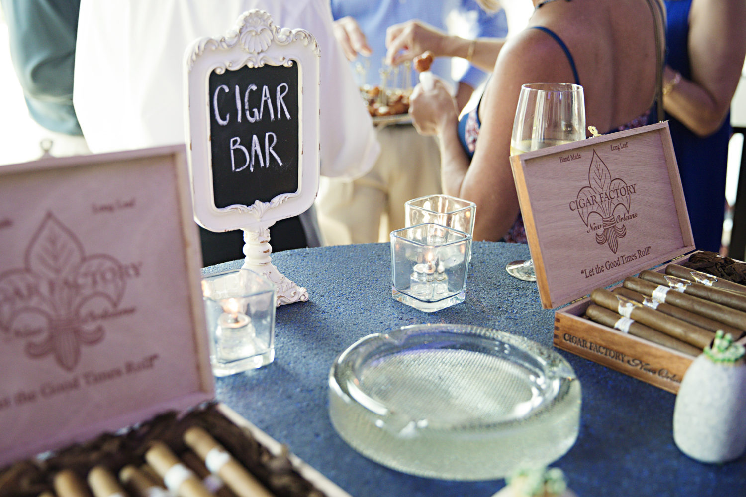 cigar bar wedding favors