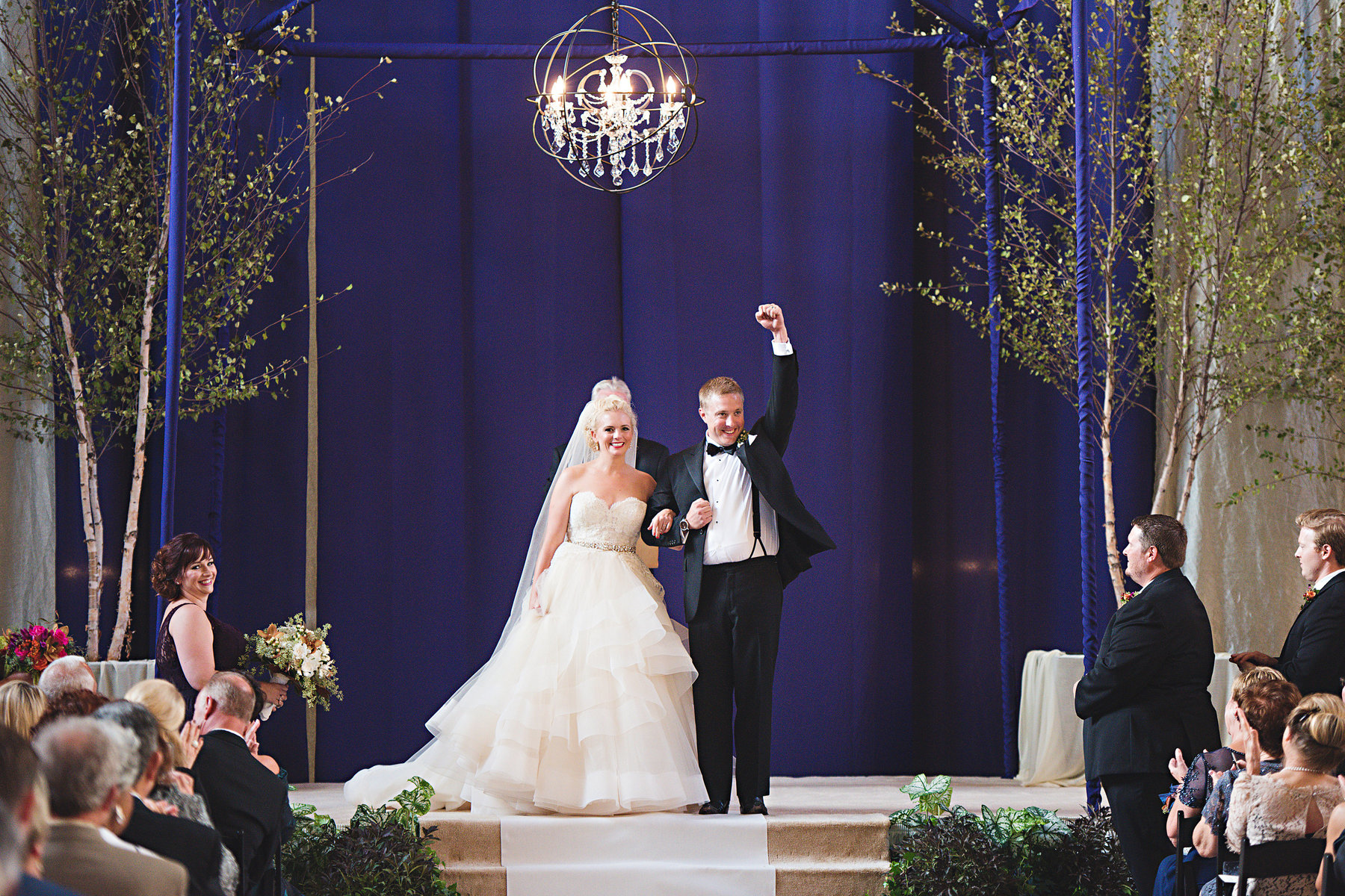 Real Weddings: Ashley + Bill's Grand Union Station Wedding – Kansas City